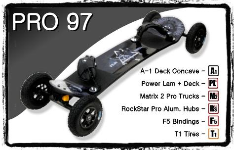Mountainboard MBS Pro 97