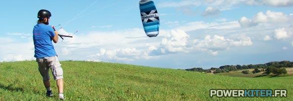 Cross kites quattro bleue