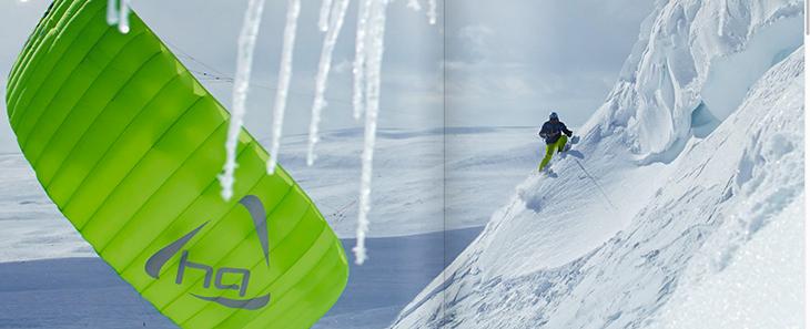 HQ montana Snowkite trip