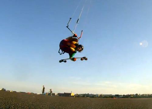 Jump Kite longboard