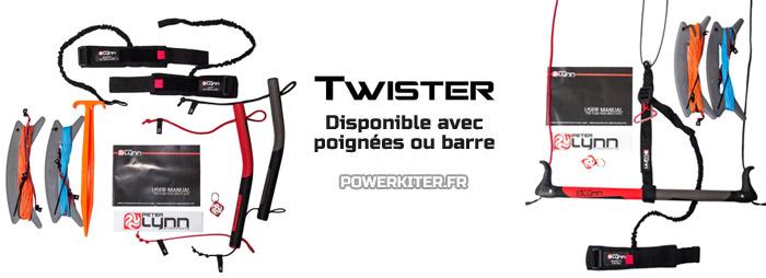 Twister avec poignées ou barre