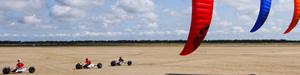 kite buggies en course