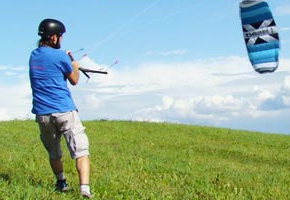 cerf volant de traction crosskites