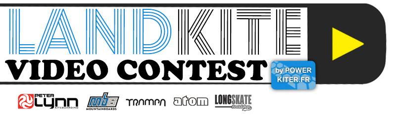 Landkite video contest par powerkiter, le numéro 1 du powerkite