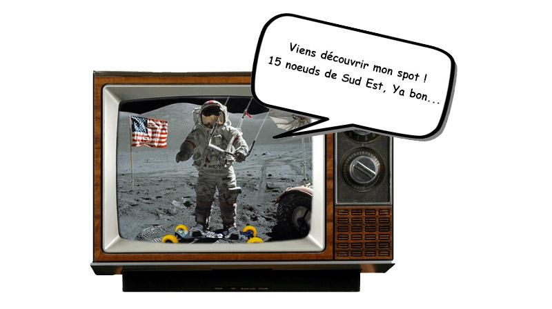 Faire du Landkite sur la Lune, c'est possible...
