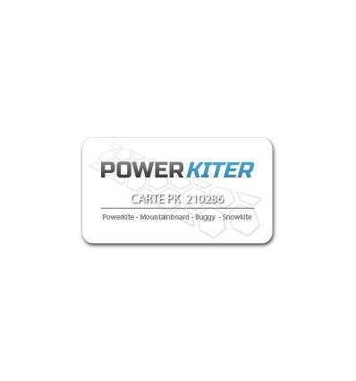 La carte Powerkiter
