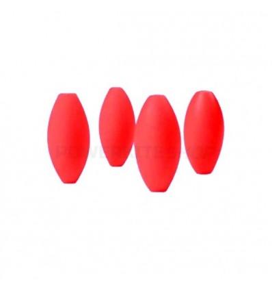MBS Gommes Eggshocks Rouge