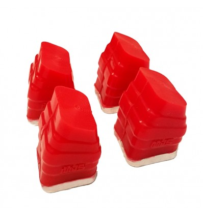 MBS Gommes Shockblocks Rouge