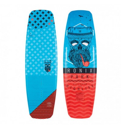 Ronix highlife - Flexbox 2 - Capitain Azure / Caffeinated 145 - Wakeboard Deck