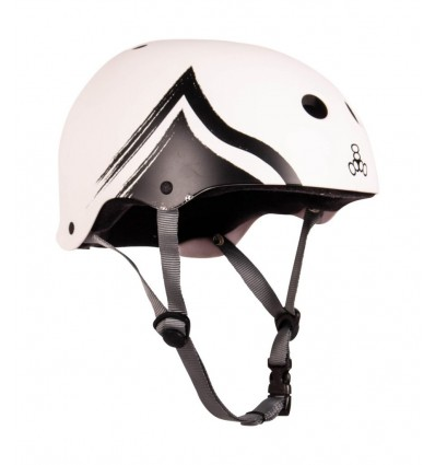 Casque Liquid Force Triple Eight - Hero - blanc
