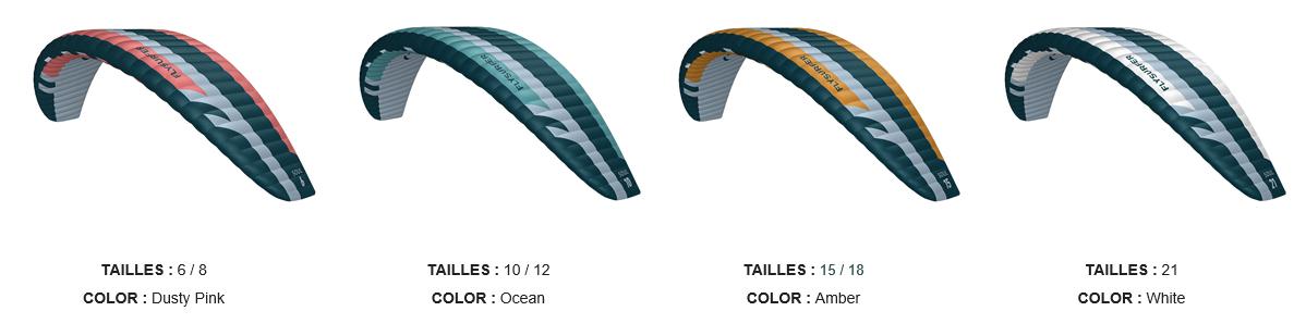 Flysurfer Soul2 couleurs