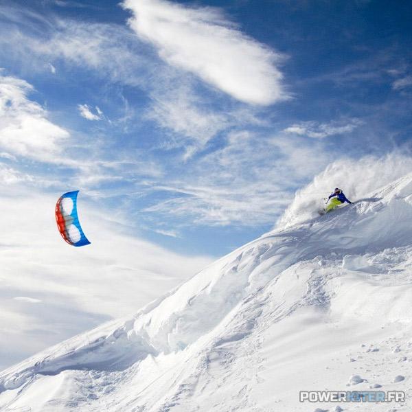 Apex 4 en snowkite