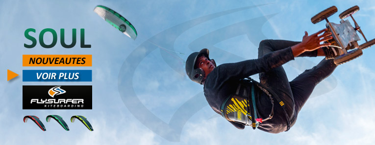 Flysurfer Soul aile à caissons