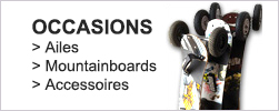 Occasions Powerkite, aile de traction, mountainboard et buggy