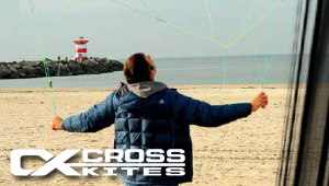 Test Cross Kites les aile de traction pas cher