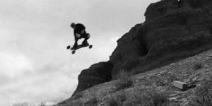 le mountainboard il y a 20 ans, saut de corniche