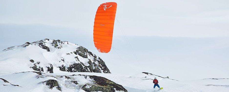 HQ Matrixx II snowkite