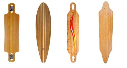 Plateaux de longboard